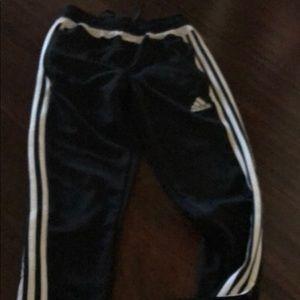 Adidas old school zip sweat pants